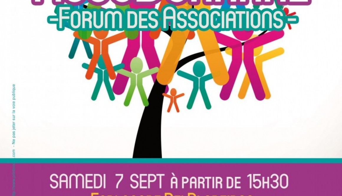Sam 7 sept: la fête des associations de la Duranne